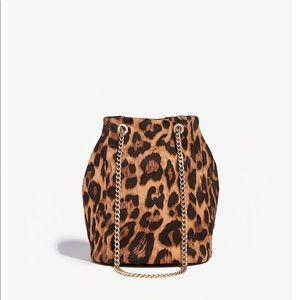Express leopard bag